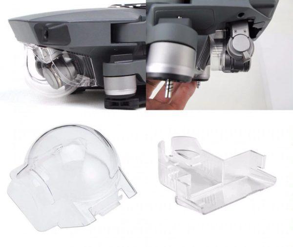 Ensemble Cache Protection Lentille Objectif Camera Anti Poussiere Stabilisateur Nacelle pour DJI Mavic Pro Platinum IMG1
