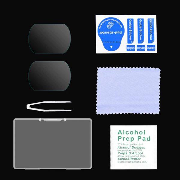 Pellicole protettive in vetro temperato 9H resistente ai graffi e alla polvere per occhiali combo DJI FPV V2 IMG2