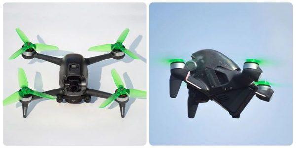 Eliche trasparenti 5328S Montaggio rapido per DJI FPV Combo GREEN IMG2