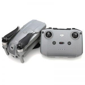 Kit adesivi protettivi per telecomando con drone in PVC impermeabile per Mavic Air 2 SILVER IMG2