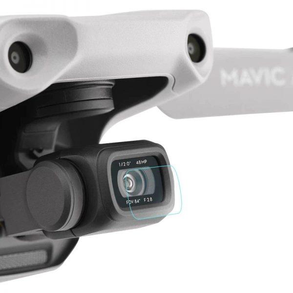 Kit Film Protecteur Lentille Objectif Camera en Verre Trempe pour DJI Mavic Air 2 IMG1