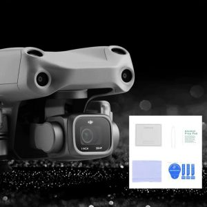 Kit pellicola protettiva per obiettivo in vetro temperato per DJI Mavic Air 2S IMG1