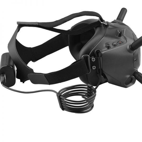 Kit di fissaggio per l'allattamento del cavo per occhiali DJI FPV V2 IMG2 1