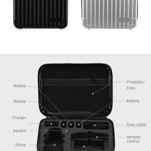 Mallette Coque Rigide Rangement et Transport Waterproof pour DJI Mavic Mini 2 IMG2