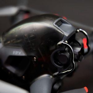 Stoßstangenschutzkamera Gimbal Objektiv für DJI FPV Combo BLACK IMG1
