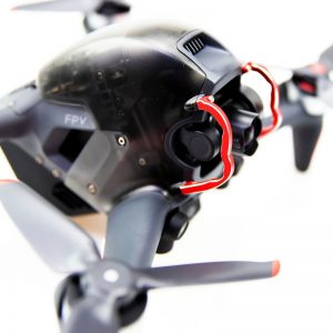 Stoßstangenschutzkamera Gimbal Objektiv für DJI FPV Combo RED IMG1