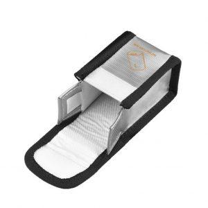 Sacoche de Securite Protection Anti Explosion Resistant a la Chaleur pour DJI FPV Combo Goggles V2 ARGENT TAILLE S pour 1 Batterie