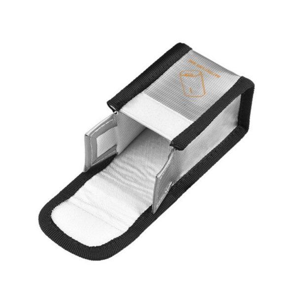 Borsa per bagagli resistente alle esplosioni resistente al calore per occhiali combo DJI FPV V2 SILVER SIZE S per 1 batteria