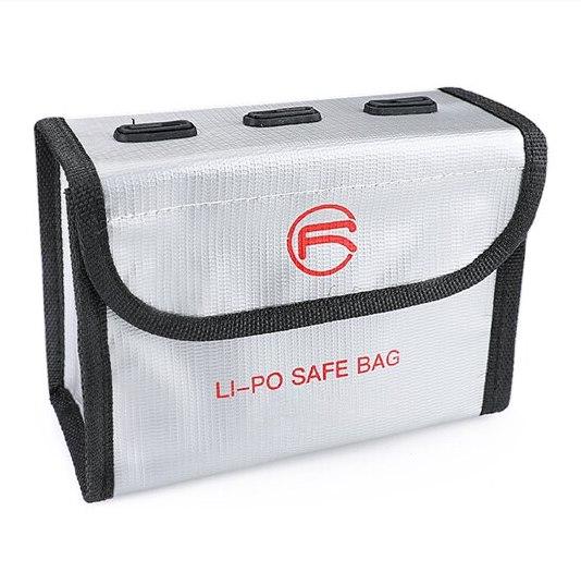 Sacoche de Securite Protection Anti Explosion Resistant a la Chaleur pour DJI FPV Combo TAILLE L pour 3 Batteries IMG1