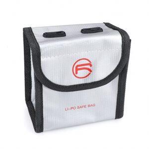 Sacoche de Securite Protection Anti Explosion Resistant a la Chaleur pour DJI FPV Combo TAILLE M pour 2 Batteries IMG1