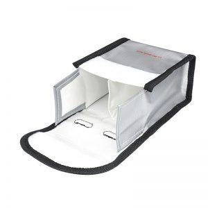 Sacoche de Securite Protection Anti Explosion Resistant a la Chaleur pour DJI FPV Combo TAILLE M pour 2 Batteries IMG2