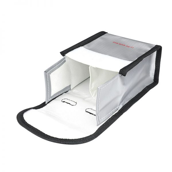 Hitzebeständige Explosionsschutz-Sicherheitstasche für DJI FPV Combo GRÖSSE M für 2 IMG2-Batterien