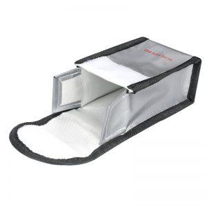 Sacoche de Securite Protection Anti Explosion Resistant a la Chaleur pour DJI FPV Combo TAILLE S pour 1 Batterie IMG2