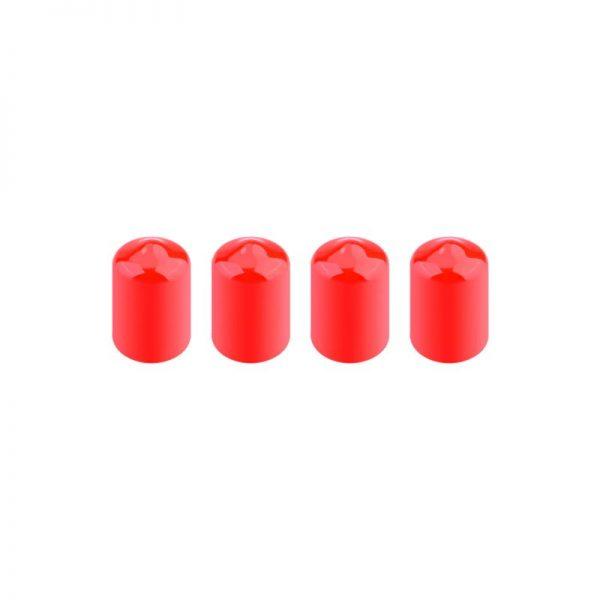 4 coperture protettive per antenna per occhiali DJI FPV V2 RED