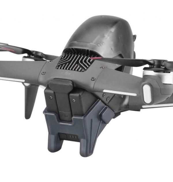 Coperchio della protezione della batteria di estensione del carrello di atterraggio 10mm per DJI FPV Combo IMG1