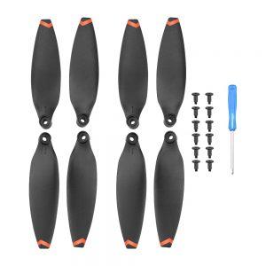 4 eliche a montaggio rapido per FIMI X8 Mini arancione
