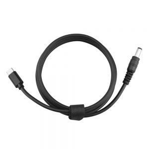 Cavo di alimentazione da 153 cm da USB tipo C a CC per Power Bank per DJI FPV Goggles V2 IMG3