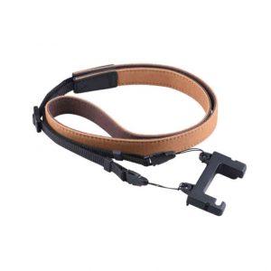 Cavo cinturino in pelle nera o marrone per telecomando DJI Mavic Air 2 2S Mini 2 MARRONE