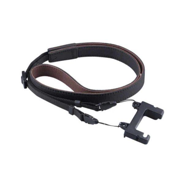 Cavo cinturino in pelle nera o marrone per telecomando DJI Mavic Air 2 2S Mini 2 NERO