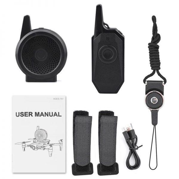 Altoparlante megafono wireless universale DJI Mavic Mini SE Pro Air 2S Spark Pro Zoom FIMI X8 SE 2020 SG906 Hubsan Zino IMG5