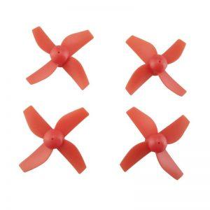 4 Helices pour Eachine E010 E010C E010S ROUGE