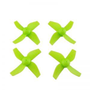 4 Helices pour Eachine E010 E010C E010S VERT